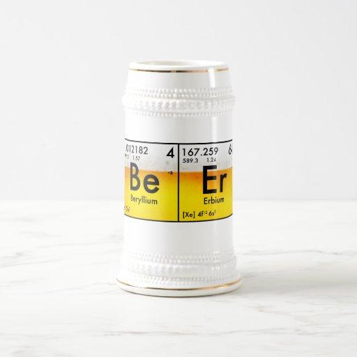 Chemical Beer Stein Coffee Mug