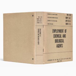Chemical/Biological Agent Field Manual...Binder! Binder