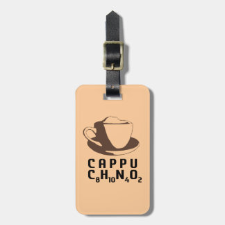 Chemical Cappuccino Luggage Tag
