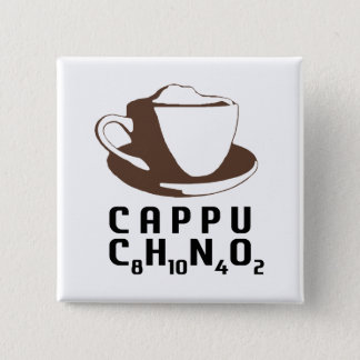 Chemical Cappuccino Pinback Button