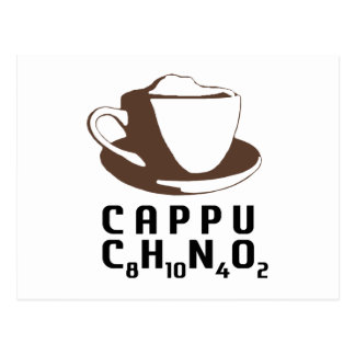 Chemical Cappuccino Postcard