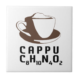 Chemical Cappuccino Small Square Tile