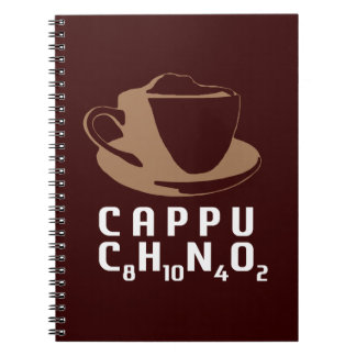 Chemical Cappuccino Spiral Notebook