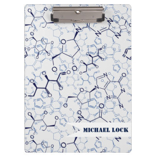 Chemical Chemistry Chemist Personalized Clipboard