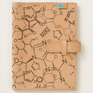 Chemical Chemistry Symbols Background Personalized Journal