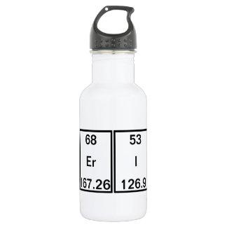 Chemical Elements: Americium Erbium Iodine Calcium 18oz Water Bottle