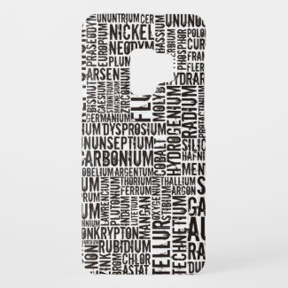 Chemical Elements... Case-Mate Samsung Galaxy S9 Case