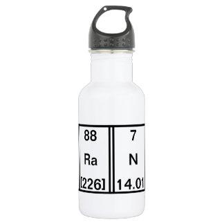 Chemical Elements: Fluorine Radium Sodium Cerium 18oz Water Bottle