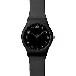 Chemical Elements Fun Nerdy Wrist Watch