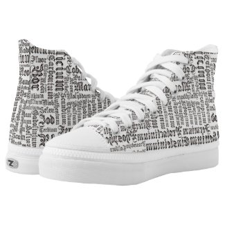 Chemical Elements High-Top Sneakers