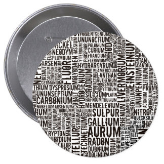 Chemical Elements Pinback Button