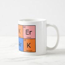 Chemical Elements Poker Shark Mug