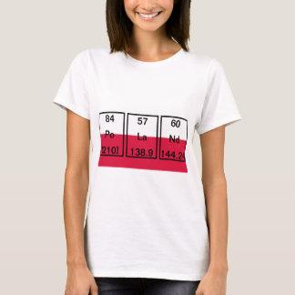 Chemical Elements: Polonium, Lanthanum, Neodymium T-Shirt