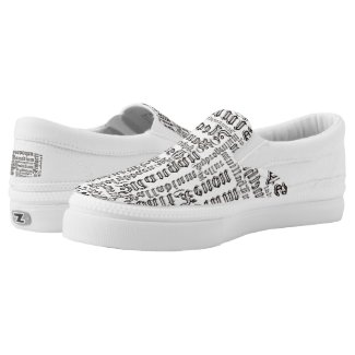Chemical Elements Slip-On Sneakers