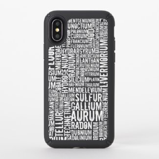 Chemical Elements - Speck iPhone X Case