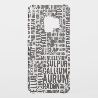 Chemical Elements Uncommon Samsung Galaxy S9 Case
