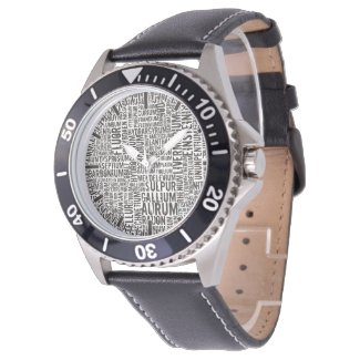 Chemical Elements Watch