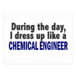 Chemical Engineer During The Day Postcard