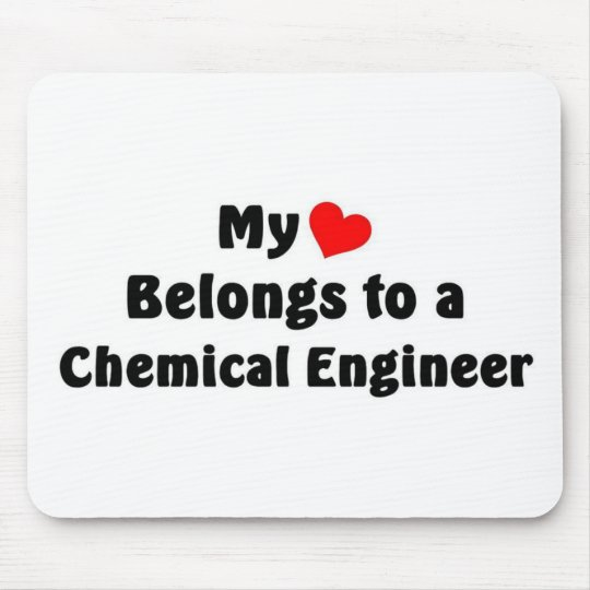 Chemical engineer mouse pad