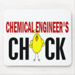 Chemical Engineer's Chick Mouse Pad