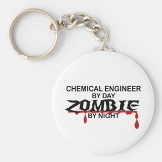 Chemical Engineer Zombie Key Chain
