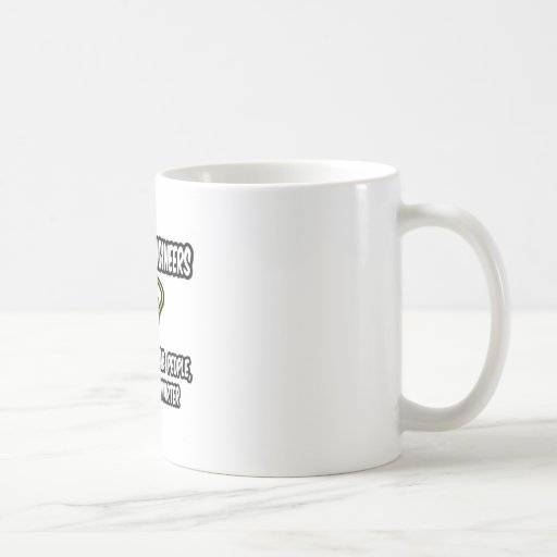 Chemical Engineers..Regular People, Only Smarter Classic White Coffee Mug