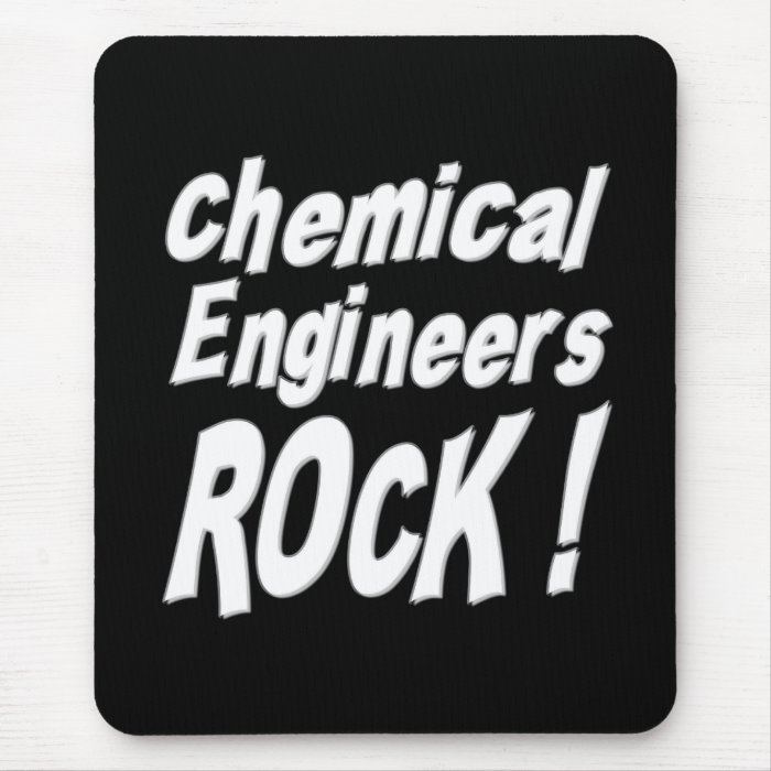 Chemical Engineers Rock! Mousepad
