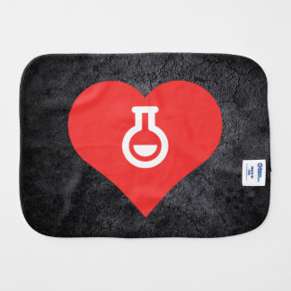Chemical Experiments Symbol Burp Cloths