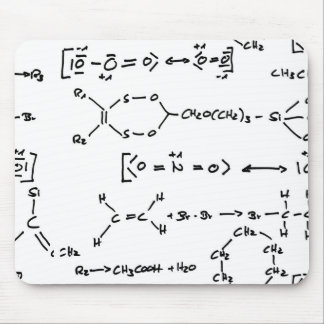Chemical formula mouse pad