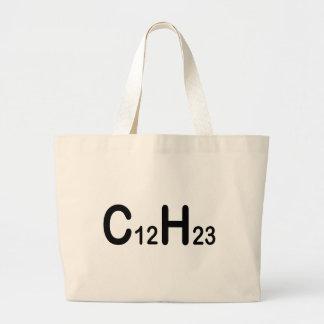Chemical Formula Of Diesel Fuel Large Tote Bag
