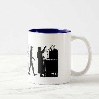 Chemical formula researchers Chemistry Gifts Two-Tone Coffee Mug