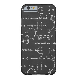 Chemical formula writing barely there iPhone 6 case