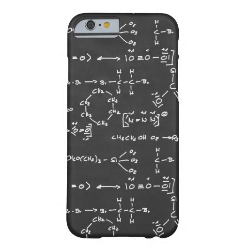 Chemical formula writing iPhone 6 case