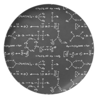 Chemical formula writing plate