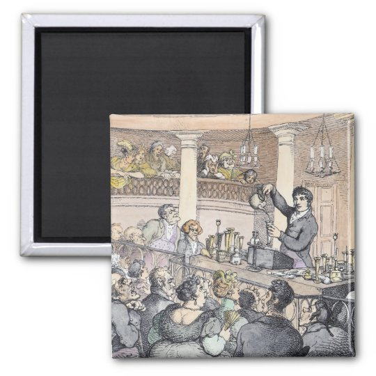 Chemical Lectures, c.1809 Magnet