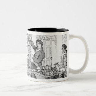 Chemical Lectures c 1809 Mug