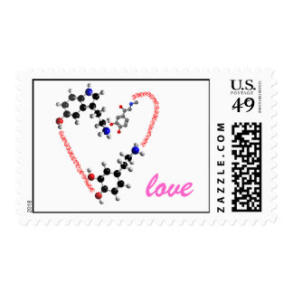 chemical love postage