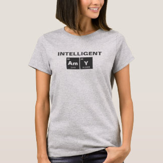 Chemical periodic table of elements: AmY T-Shirt