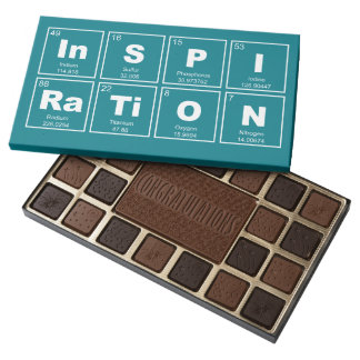 Chemical periodic table of elements: InSPIRaTiON Assorted Chocolates