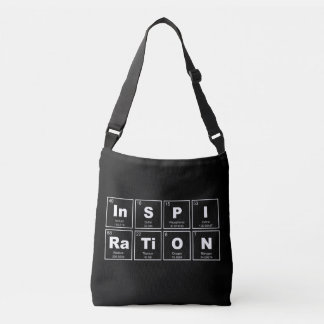 Chemical periodic table of elements: InSPIRaTiON Crossbody Bag
