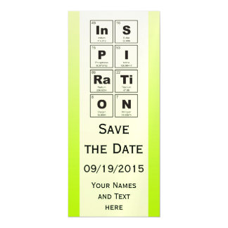 Chemical periodic table of elements: InSPIRaTiON Magnetic Card