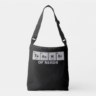 Chemical periodic table of elements: TeAcHEr Crossbody Bag