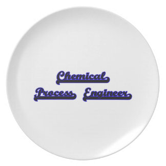 Chemical Process Engineer Classic Job Design Plate