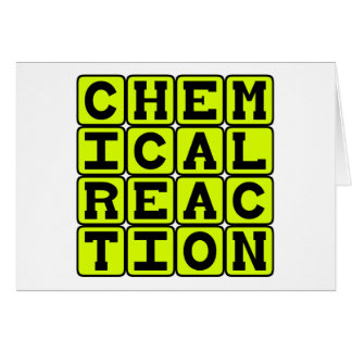 Chemical Reaction Card
