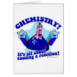 Chemical Reaction Greeting Card