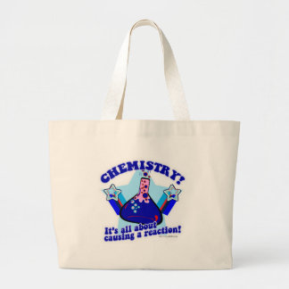 Chemical Reaction Large Tote Bag