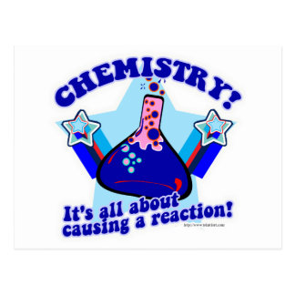 Chemical Reaction Post Cards