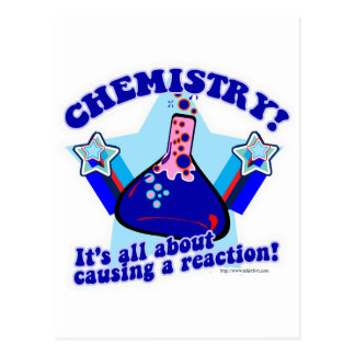 Chemical Reaction Post Card