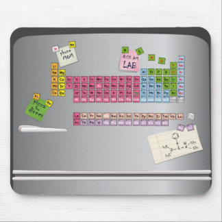 chemical refrigerator mouse pad