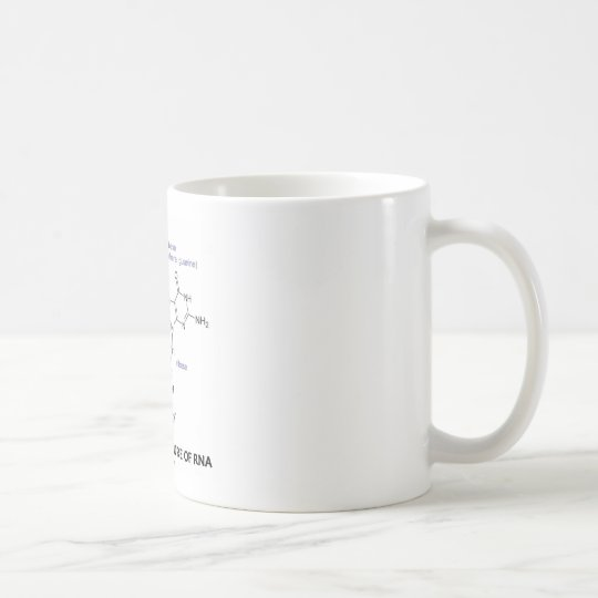 Chemical Structure Of RNA (Molecular Structure) Coffee Mug